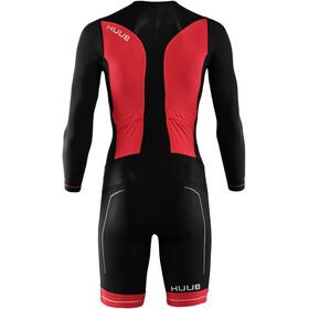HUUB Race Langarm Trisuit Herren black/red